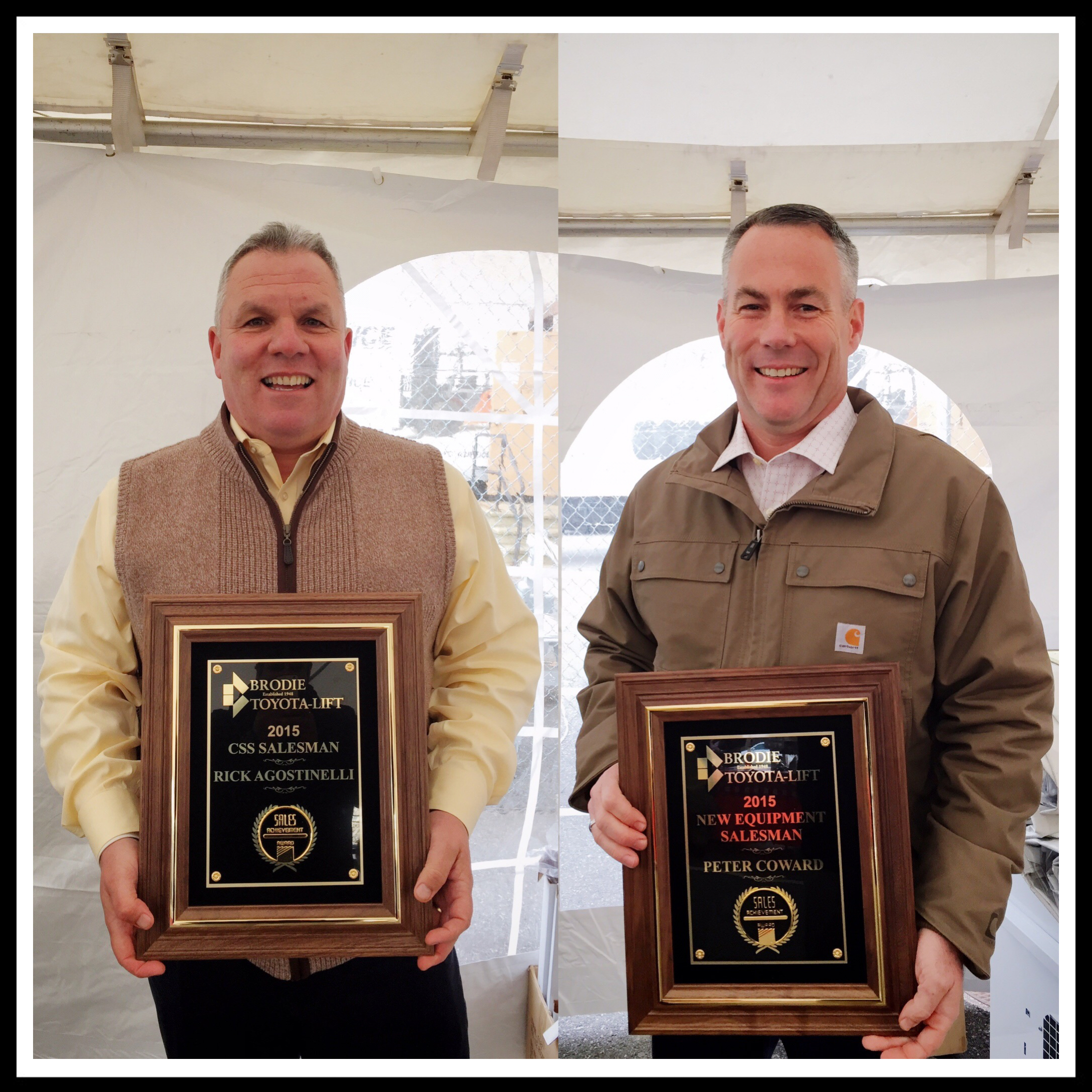 Toyota Dealers St Louis: Rick Agostinelli! & New Equipment Salesman Of The Year